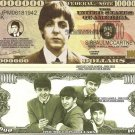 PAUL MCCARTNEY THE BEATLES MILLION DOLLAR BILLS x 4 NEW