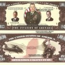 INVASION OF GRENADA 1983 URGENT FURY DOLLAR BILLS x 4