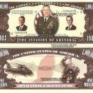 INVASION OF GRENADA 1983 URGENT FURY DOLLAR BILLS x 4