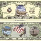 UNITED STATES NAVY AIRCRAFT CARRIER DOLLAR BILLS x 4