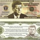 JOHN F KENNEDY COMMEMORATIVE MILLION DOLLAR BILLS x 4