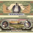 BASEBALL STRIKE OUT HOME RUN MILLION DOLLAR BILLS x 4