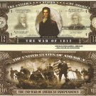 1812 2nd WAR OF AMERICAN INDEPENDENCE DOLLAR BILLS x 4
