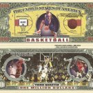BASKETBALL THIRD QUARTER ONE MILLION DOLLAR BILLS x 4