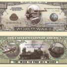 FIRST WORLD GREAT WAR WW1 ONE MILLION DOLLAR BILLS x 4
