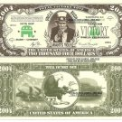 UNCLE BUSH TOTAL VICTORY 2004 AMERICAN DOLLAR BILLS x 4
