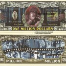 WOLFMAN LON CHANEY JR ONE MILLION DOLLAR BILLS x 4 NEW