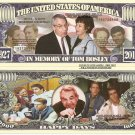 IN MEMORY TOM BOSLEY HAPPY DAYS MILLION DOLLAR BILLS x 4