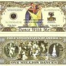 Ballroom Dancing Waltz Foxtrot Tango Dollar Bills x 4
