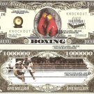 Boxing for the Championship Sport Dollar Bills x 4 New