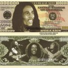 Robert Nesta Bob Marley One Million Dollar Bills x 4 Jamaican Singer Songwriter