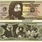 Jerome John Jerry Garcia One Million Dollar Bills x 4 American Singer Songwriter