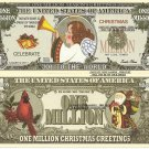 Christmas Angel Joy to the World Million Dollar Bills x 4 New Seasons Greetings