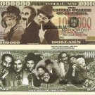 Marx Brothers Harpo Groucho Chico Comedy Legends Million Dollar Bills x 4 New