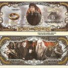 The Lord of the Rings Million Dollar Bills x 4 Frodo Baggins New