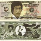Bruce Lee Mixed Martial Arts Enter the Dragon Million Dollar Bills x 4