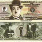 Sir Charles Spencer Charlie Chaplin Million Dollar Bills x 4 Film Star Icon