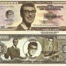 Buddy Holly Charles Hardin Holley Commemorative Dollar Bills x 4 Rock Singer