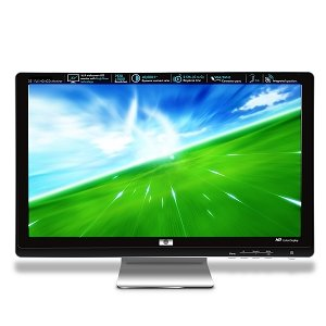 "23"" Debranded HP  Full HD LCD Monitor HDMI 3ms Like Brand New  40,000:1 DCR"