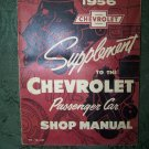 """1956 Chevrolet Supplement , Passenger Car Shop Manual"""
