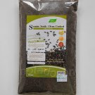 NUTRI MATE Ground Oven Roasted Black Sesame Seed Whole Grain 350g. Add Soup,Milk,Dessert