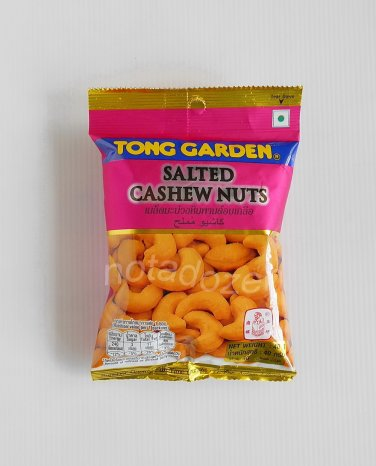 """Tong Garden""  Roasted Salted Cashew Nuts 40 g."