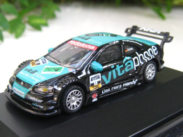 High Speed 1/87 diecast Car OPEL ASTRA V8 COUP� DTM 2002 BARTELS