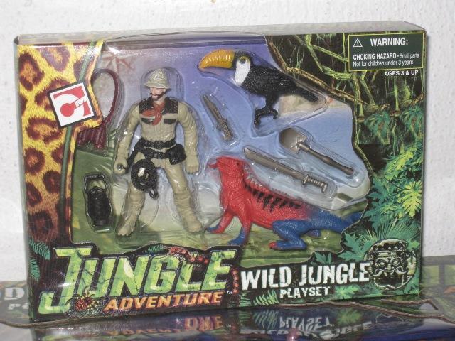 Chap Mei - Jungle Adventure Wild Jungle Playset TOUCAN 391001
