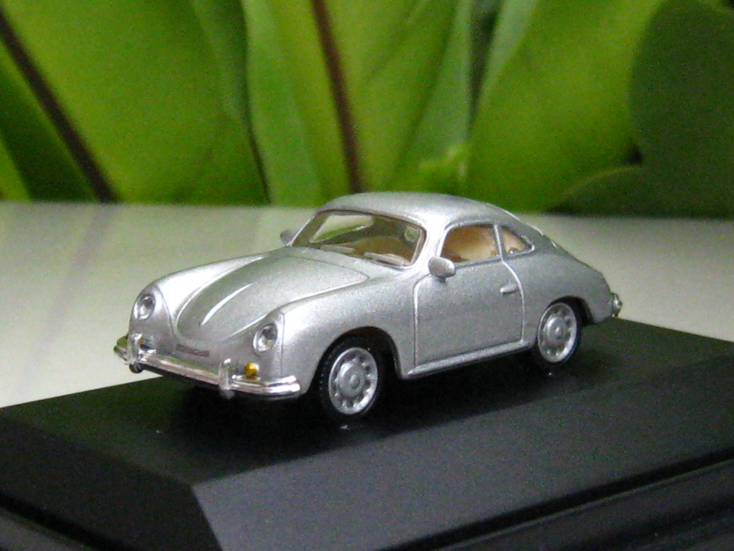 High Speed 1/87 Diecast Model Car Porsche 356A SILVER 1959 Classic Car