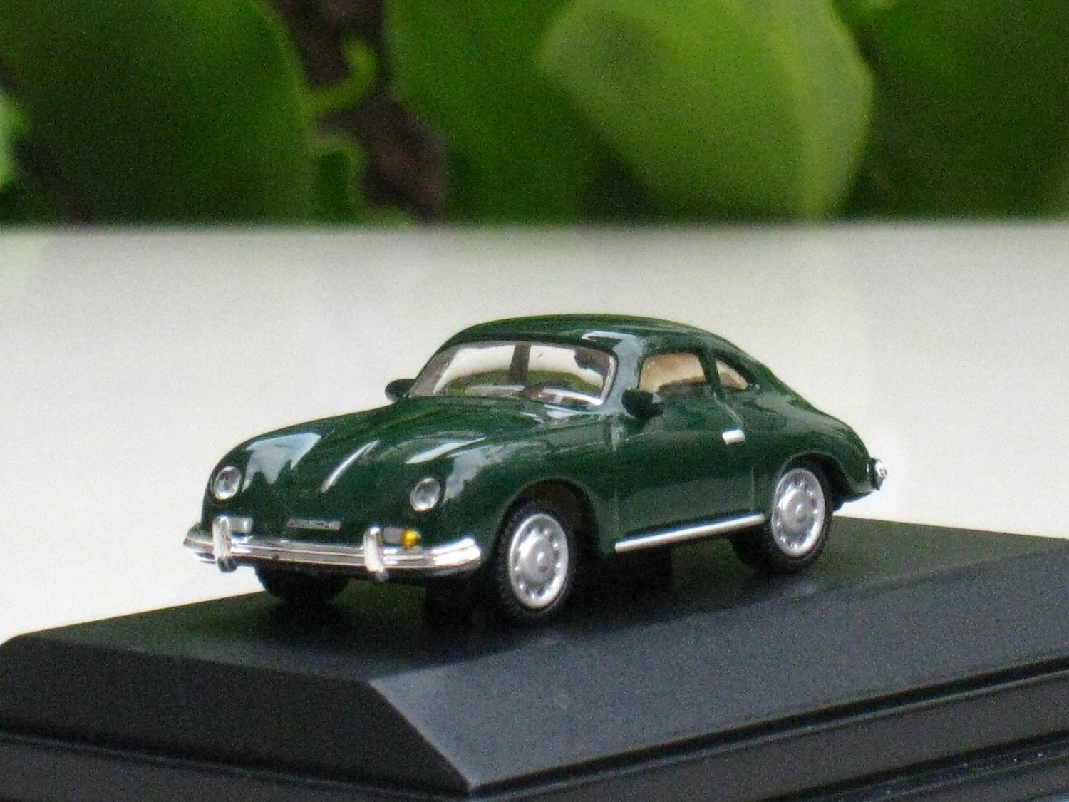 High Speed 1/87 Diecast Model Car Porsche 356A GREEN Classic Car