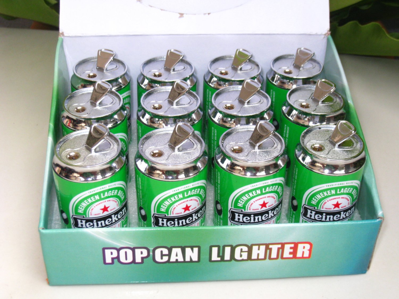 Lighter Heineken Can Shape With Torch Light 12nos