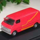 High Speed 1/87 Diecast Model Car FORD E-100 VAN 1974 Red