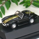 High Speed 1/87 Diecast Model Car 1969 Shelby Cobra 427 S/C (4.5cm) BLACK
