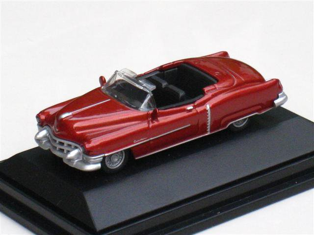 High Speed 1/87 Diecast Car Model Classic Cadillac Eldorado Cabrio 1953  ( BROWN ) 5.5cm