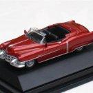 High Speed 1/87 Diecast Car Model Classic Cadillac Eldorado Cabrio 1953  ( BROWN ) 5.5cm