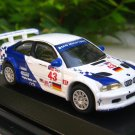 High Speed 1/87 Diecast  Model Car BMW M3 GTR #43