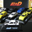 Initial D  1-72 Diecast Model Car FULL SET(AE86)(FC3S)(CE9A)(EK9)(FD3S)(GC8) 8No