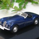 High Speed 1/87 Diecast  Model Car 1953 Jaguar XK 120 (DARK BLUE)5cm