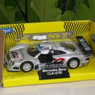 Welly Diecast  Car Model Merceddes Benz CLK-GTR SILVER 1-38 (11cm)