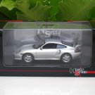 High Speed 1/43 Diecast Model Car Porsche 911 GT2 (Silver) 2000