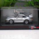 High Speed 1/43 Diecast  Model Car Porsche 911 GT2 1996 SILVER
