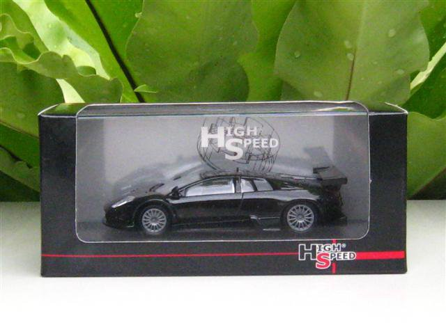 High Speed 1/43 Diecast  Model Car Lamborghini Murcielago R-GT