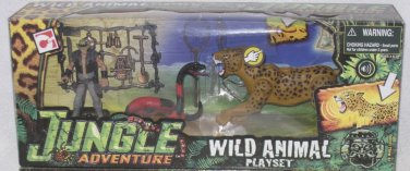 Chap Mei -  Jungle Adventure - Wild Animal Playset (Snake & Leapard)