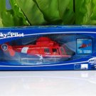 NewRay Sky Pilot  1/48  Eurocopter Dauphin HH-65C Diecast  Model Helicopter Red (24cm)