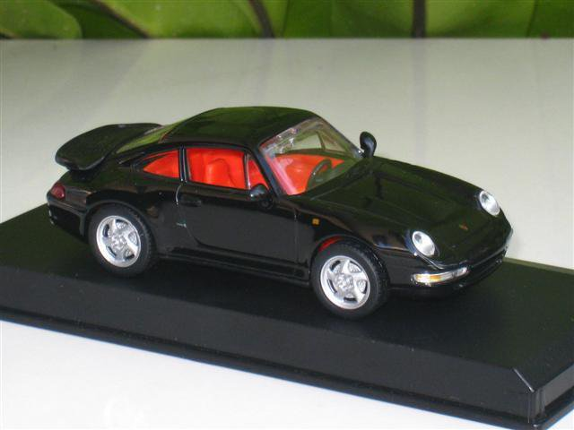 High Speed 1/43 Diecast  Model Car Porsche 911 Turbo Coupe 1995