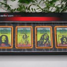 Metal Oil Lighter Set BOB MARLEY (4 nos)