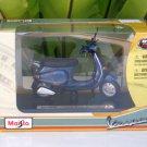 MAISTO 1/18 (1996) Vespa 125 ET4 MET DARK BLUE