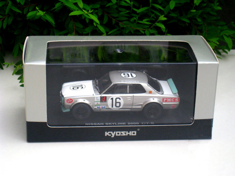 Kyosho 1/43 Diecast Car Model Nissan Skyline 2000 GT-R #16