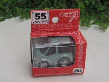 Takara Choro-Q #55 Toyota Funcargo LIGHT BLUE