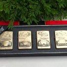 Metal Oil Lighter Set 3D Car Set 1 - Lamborghini Ferrari Bugatti Porsche (4 nos)